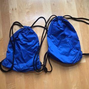 Nike Bags - DOUBLE PACKAGE Nike drawstring backpacks